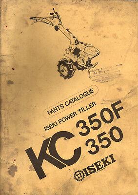 Ambitieus Catalogue Pieces Detachées Motoculteur Iseki Kc350 F Delicious In Taste