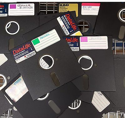 New pack of 25 5.25 DS//HD floppy disks 5 1//4 floppy diskettes Fast Ship READ