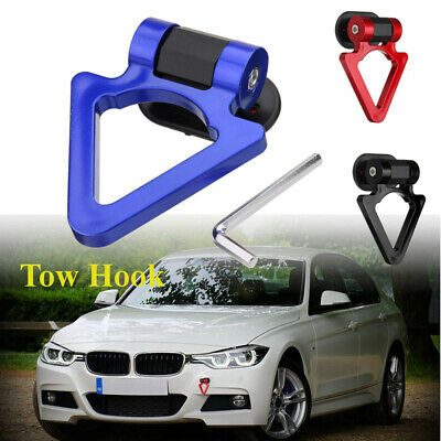 Universal ABS Blue Ring Track Racing Style Tow Hook Decoration For Accessories