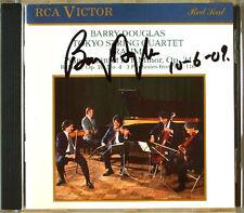 Barry DOUGLAS Signed BRAHMS Piano Qunitet TOKYO STRING QUARTET RCA CD Capriccio