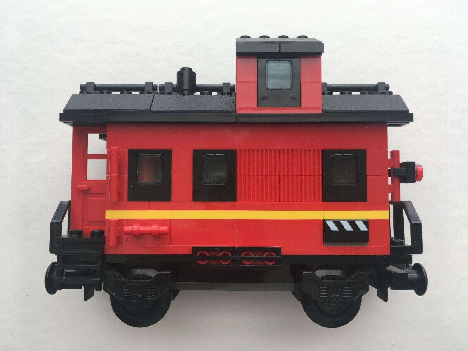 Lego  Caboose (10014) My Own Train rouge  jusqu'à 70% de réduction