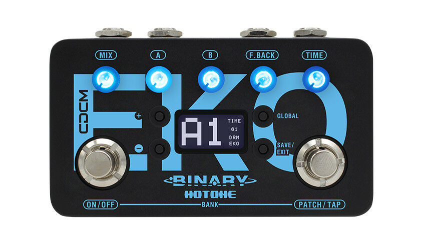 Hotone Binary Eko CDCM Delay Guitar Effects Pedal BDL1
