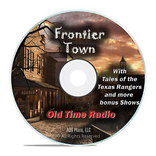 Frontier Town, 205 Old Time Radio Western Shows, with Texas Rangers DVD F90