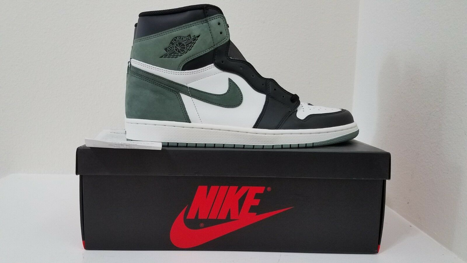 c3b3f64818 Air Jordan 1 High Clay Green 555088 135 DS w receipt Size 13 OG Retro  nompcf1504-Athletic Shoes