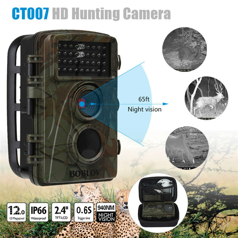 HD Hunting Trail Camera PIR IR LED Motion Activated Security Wildlife Cam A28R