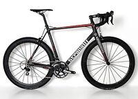 STRADALLI R7 CARBON FIBER ROAD BIKE SHIMANO 105 5800 11 SPEED BICYCLE 54 CM FSA