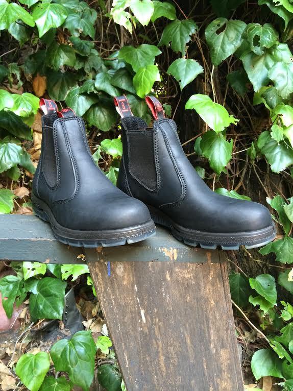 Rougeback 6  noir Steel Toe