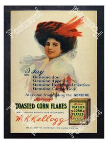 Historic-Kelloggs-Cornflakes-1910-Advertising-Postcard