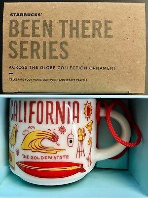 Starbucks New Mexico Been There Series Espresso Cup Ornament Demitasse Mug 2oz