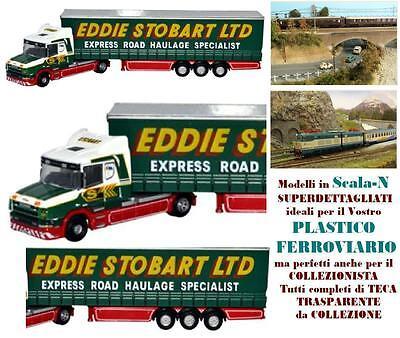 2019 Moda Tir Camion Articolato Eddie Stobart Scania T-cab Cortina Side Scala-n Ntcab001 Design Professionale
