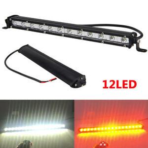 """1/2x 13"""" 36W 12LED Arbeitsscheinwerfer Nebelscheinwerfer Licht Bar Combo Offroad"""