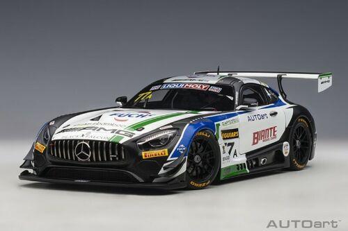 Autoart 81930-1//18 Mercedes-AMG gt3 Team Craft Bamboo Black Falcon Bathurst