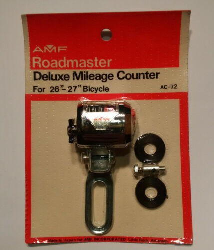 NOS Roadmaster Deluxe Bicycle Mileage Counter
