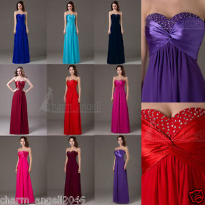 Sexy-Women-039-s-Dresses-Bridesmaid-Evening-Party-Formal-Prom-Dress-Gown-In-Stock
