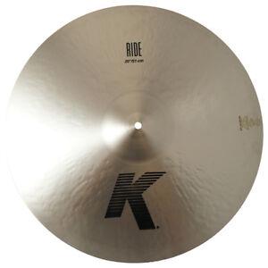 Zildjian K0817 20 Quot Ride Drumset Cymbal Cast Bronze Dark To
