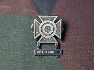 Army Sub Machinegun Marksmanship badge hanger GI FRW GI and GEMSCO hallmark Overig
