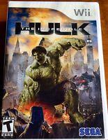 Wii The Incredible Hulk,