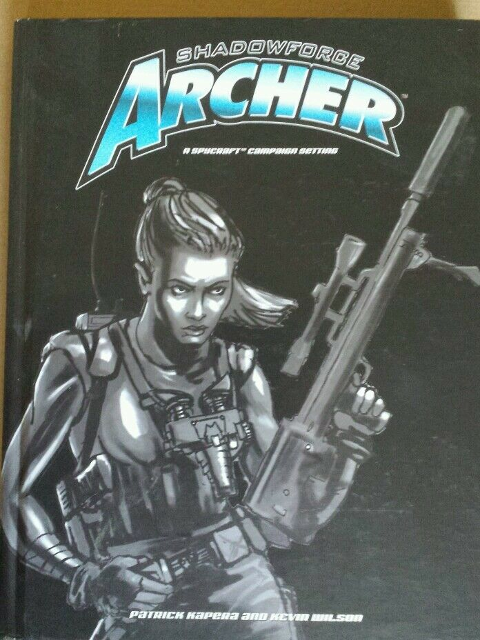 Spycraft   Shadow force archer spy craft RPG roleplaying