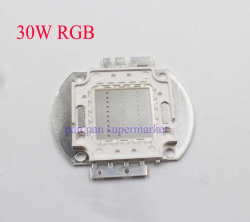 RGB Chip 3W 10W 20W 30W 50W 100W Red Green Blue White Diode 3 10 20 30 50 100 W