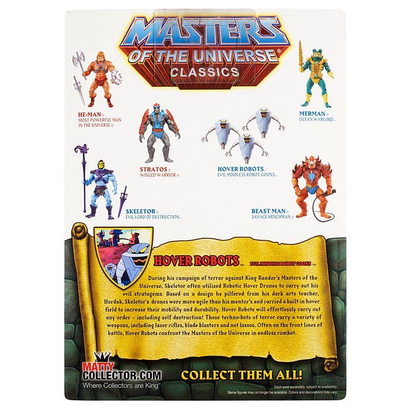 Hover Robots MOTUC Masters of the Universe classeeics MOTU  He-uomo  sconto