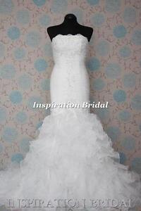 1568-White-Ivory-wedding-dress-Davinia-floor-length-Mermaid-size-6-8-10-12-14-16
