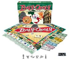 Italy-Opoly (ItalyOpoly) A Italian themed Monopoly game NEW and SEALED