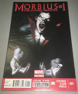 Morbius The Living Vampire #1 (2013) Marvel 1st Print
