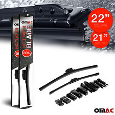 Omac Premium Wiper Blades 21 Amp 22 Combo Pack For Smart Fortwo 2005 2016
