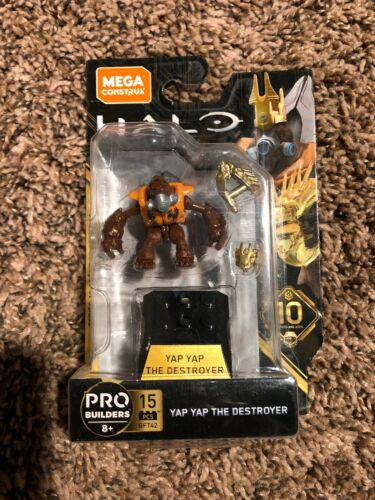 Mega Construx Halo Heroes Series 10 YAP YAP THE DESTROYER GFT42,SEALED