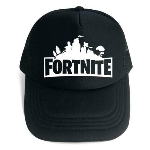 Fortnite Hip Hop Theme Baseball Cap Unisex 3D Printed Hat Adjustable Sun Hat
