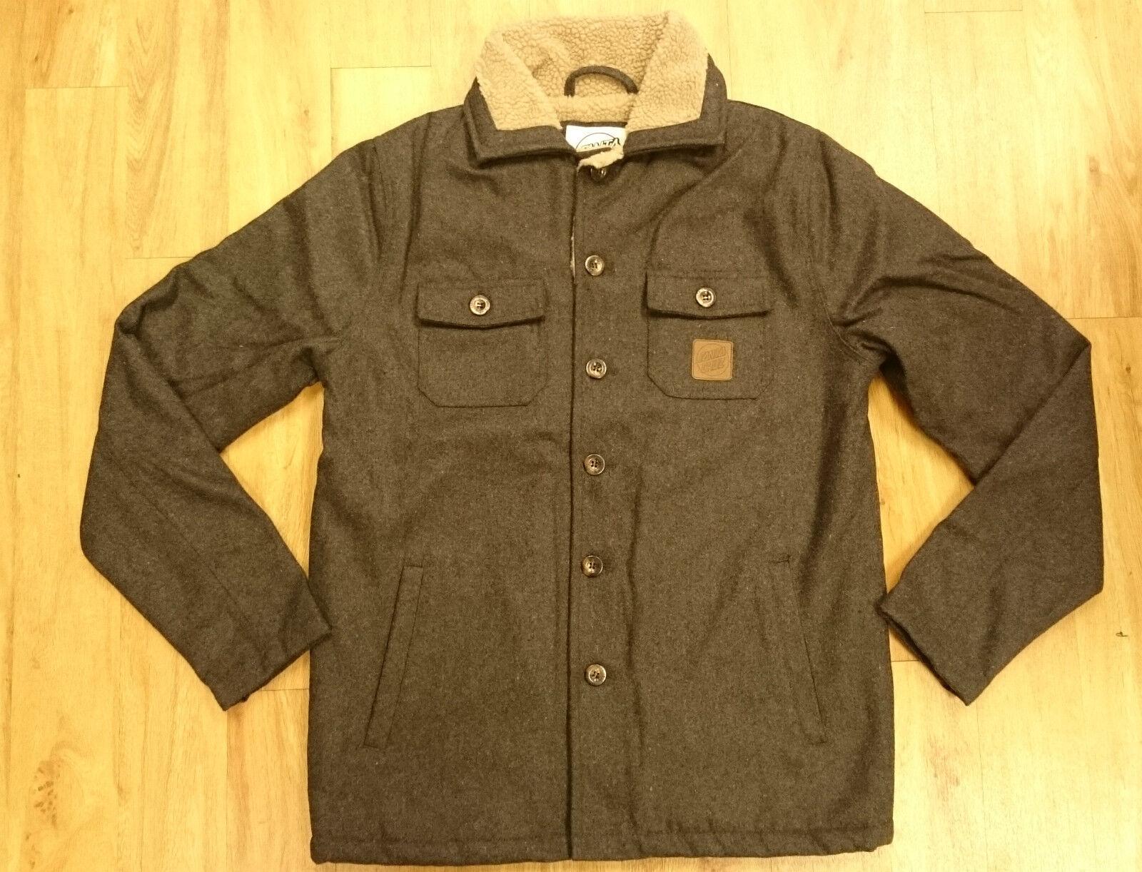 Santa Cruz/ Ranger Coat/ Grau/ Größe Small - 248