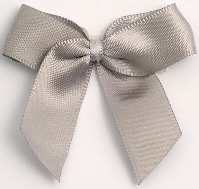 Wedding & Party Favours Large self adhesive Satin Bows approx 5cm wide