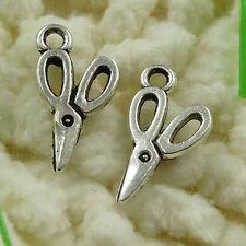 Free Ship 40Pcs Tibetan Silver Scissor  Charms 30x14mm