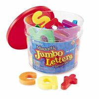 Learning Resources Jumbo Magnetic Lowercase Letters , New, Free Shipping on sale
