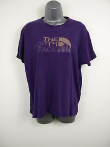 Purpura-para-mujer-THE-NORTH-Camiseta-Top-Talla-FACE-medio