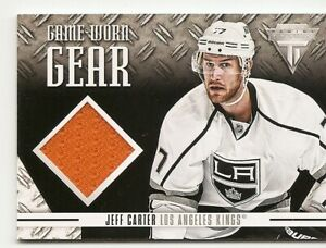 12-13-PANINI-TITANIUM-GAME-WORN-GEAR-JEFF-CARTER-GG-JC