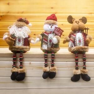 Christmas-Tree-Hanging-Decoration-Xmas-Santa-Claus-Snowman-Doll-Ornaments-Gifts