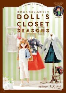 Doll-039-s-Closet-saisons-de-poupees-vetements-a-coudre-Book-Japan