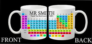 Personalised teacher science chemistry thank you mug periodic table image is loading personalised teacher science chemistry thank you mug periodic urtaz Choice Image