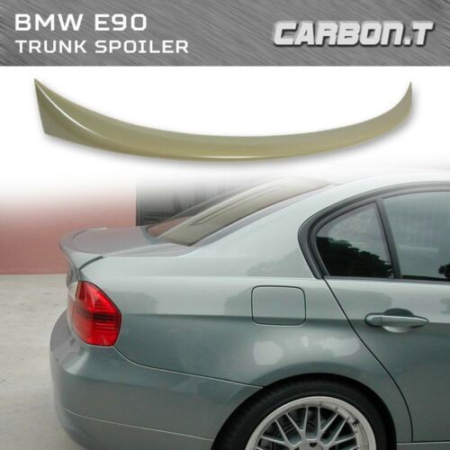 Stock IN US For BMW 3-Series E90 Sedan 4D 05-11 OE Style Trunk Spoiler Unpainted