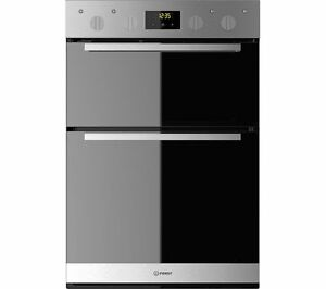 INDESIT Aria IDD 6340 IX Electric Double Oven - Stainless Steel | eBay