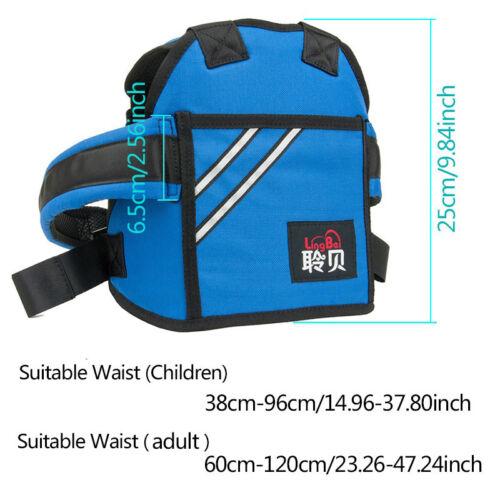 Motorcycle Seat Strap Back Kids Safety Harness Support Belt Protective Gear
