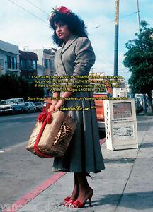 Vanessa-del-Rio-Adult-Star-Photo-039-CHILI-CALIENTE-039-1979-Signed-AFT-BUY-w-COA