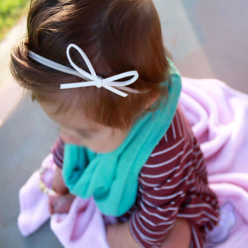 3Pcs Baby Girls Flower Bow Headband Beauty Infant Toddler Hair Band Accessories