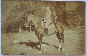 German-Officer-For-Horse-Photo-Card-With-Text-47761