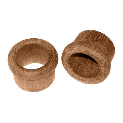 """Whitecap 60146-A Teak Finger Pull 1/"""" Barrel Length 2 Pack"""