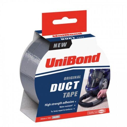 FREE Power Tape! Unibond Duct//Duck//Gaffer//Gaffa//Cloth Tape 2x25M rolls