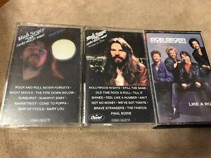 Bob-Seger-Vintage-Cassette-Tapes-Lot-of-3-Night-Moves-Stranger-in-Town-Like-Rock