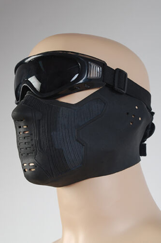 Captain America 2 Winter Soldier James Buchanan//Bucky Barnes Latex Cosplay Mask