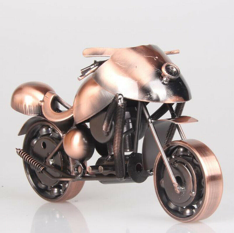 Hand-Welded Scrap Metal Chopper Racing Bike Motorcycle Art Art Art Motorbike Sculpture 4be31a